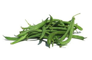 green beans: none