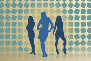 Girls Silhouette 1