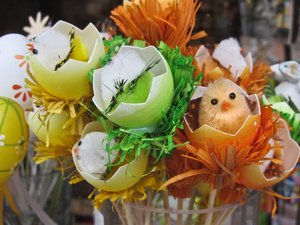 easter eggs decoration: easter eggs decoration