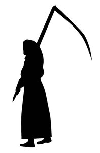 Death with a scythe