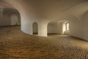Inside the Round Tower - HDR