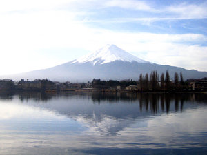 Mount Fuji: Picture of Mt. Fuji at Kawaguchi Lake