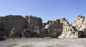 Ancient ruins: Ancient Greek ruins in northern Cyprus.