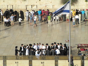 Jerusalem: the  Wailing Wall - Jerusalem