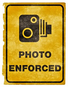 Photo Enforced Grunge Sign