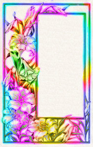 Colourful Border 4