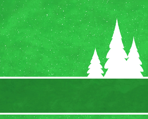 Christmas Tree Banner 4: Abstract Christmas tree banner