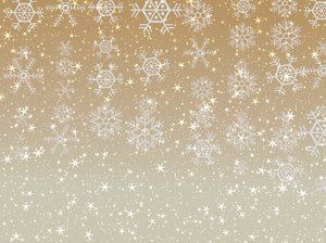 Stars Snowflakes Background 5