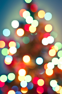 Christmas Lights Bokeh 3