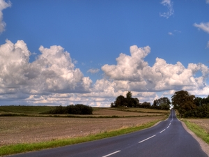 Country road - HDR