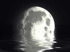Moon and Water 1