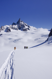 Ski expedition: Vallee Blanche, Chamonix, France