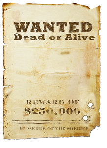 Wanted Poster: The Wild Bunch Poster (Billy the Kid, New Mexico) modified.