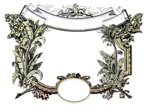 Tropical Victorian Frame