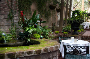 Courtyard table
