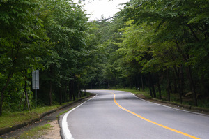 Korea's Suanbo Road.