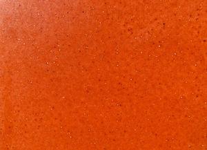 glazed orange tile