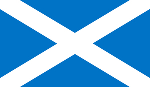 Scotland Flag: Flag from Scotland draw