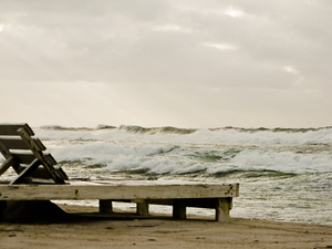 Stormy Sea: Pass on the Beach Today....
