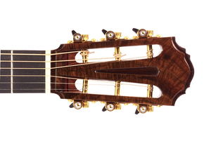 Custom Made Guitar Head Detail