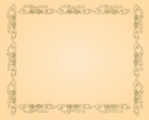 Golden Ornate Border 6