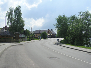 A road in Trakai