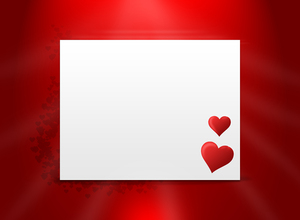 Love letter: A love letter vector illustration
