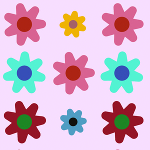 Pretty Graphic Flowers 2
