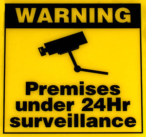 watch alert1: sign alerting to camera surveillance