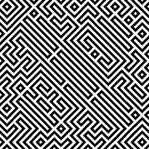 Maze 5: A black and white maze pattern. You may prefer this:  http://www.rgbstock.com/photo/o4lbigi/Maze  or this:  http://www.rgbstock.com/photo/o4IXIii/Maze+4  or this:  http://www.rgbstock.com/photo/nDdN3Y8/Maze+of+Pipes+1