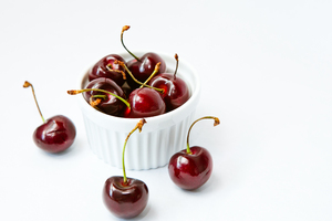 Fresh Cherries 5: Photo of fresh cherries