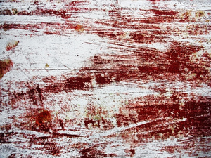 Grunge texture: Decaying painted wood texture