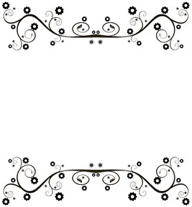Ornate Floral Border