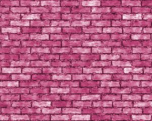 Coloured Brick Wall 2