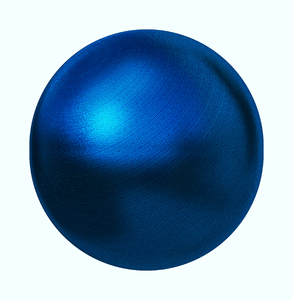 Blue Textured Sphere