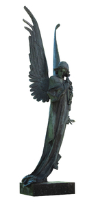 Angel: Angel of Death at Rosas Cemetery, Vilnius.