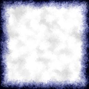 Blue Grunge Border