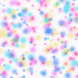 Colourful Star Background 3