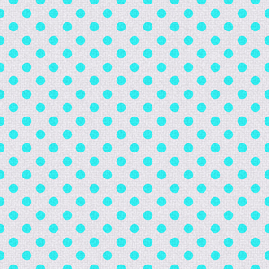 Polka Dots on Texture 4: Bright polka dots on textured ackground. Could be cloth or textile, background or fill.