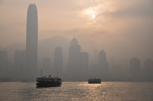 Hong Kong: Hong Kong pollution