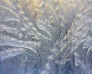 Frosty patterns 4