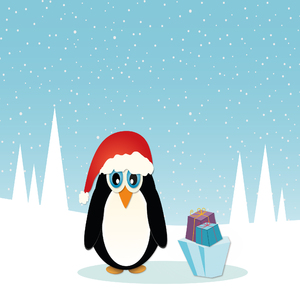 Christmas Penguin - 2
