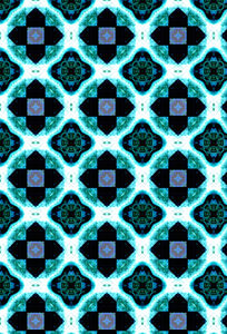 mosaic floor tiling2: abstract background, texture, patterns and perspectives