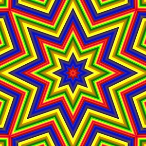 Carnival Stripes 2: Vivid eye catching star shaped carnival stripes. Tiles beautifully. You may prefer:  http://www.rgbstock.com/photo/npgY18G/Bright+Paint+Splashes+1  or:  http://www.rgbstock.com/photo/2dyWdGi/Rainbow+Coloured+Fantasy