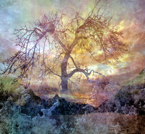 Collage Fantasy Tree 1