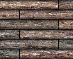 Log Cabin Wall 1
