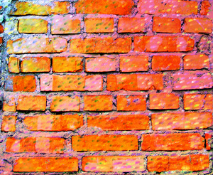 Brick Wall 1: A brick wall texture in various colours.