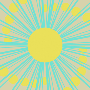 Arty Sunburst: An arty sunburst in aqua and yellow on a beige background. You may prefer:  http://www.rgbstock.com/photo/obhSYNk/Very+Hi-res+Burst+2  or:  http://www.rgbstock.com/photo/mmLc2Qs/Pastel+Banner