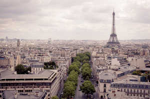 Paris City Skyline 2