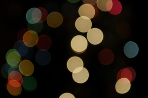 Christmas Lights Blur III